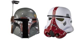 New Star Wars Black Series Helmets