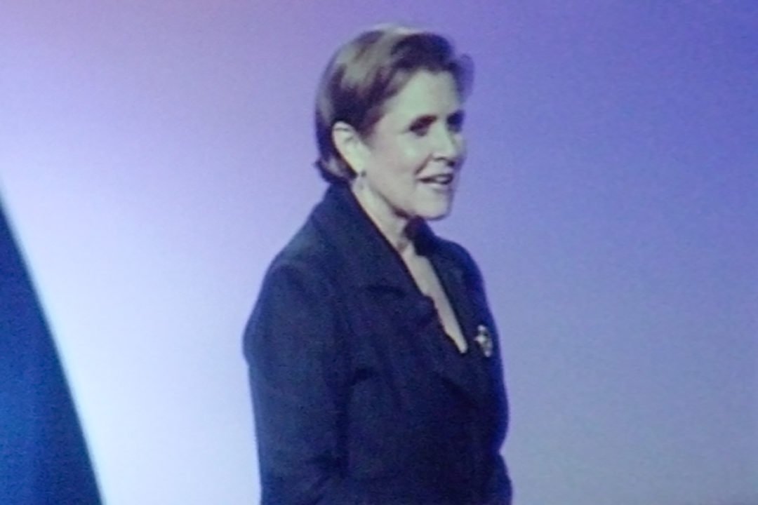 Carrie Fisher at Celebration IV, 2007
