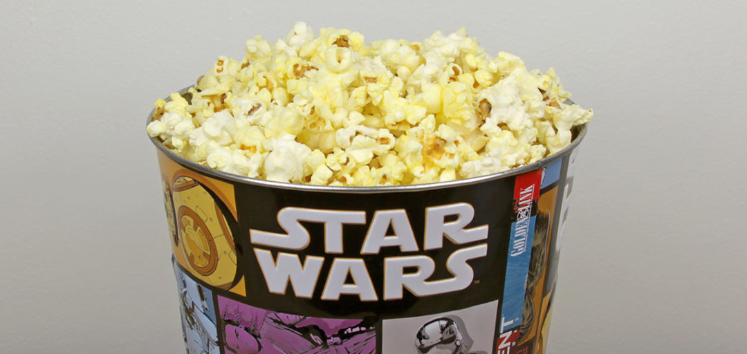 Star Wars Popcorn Buckets