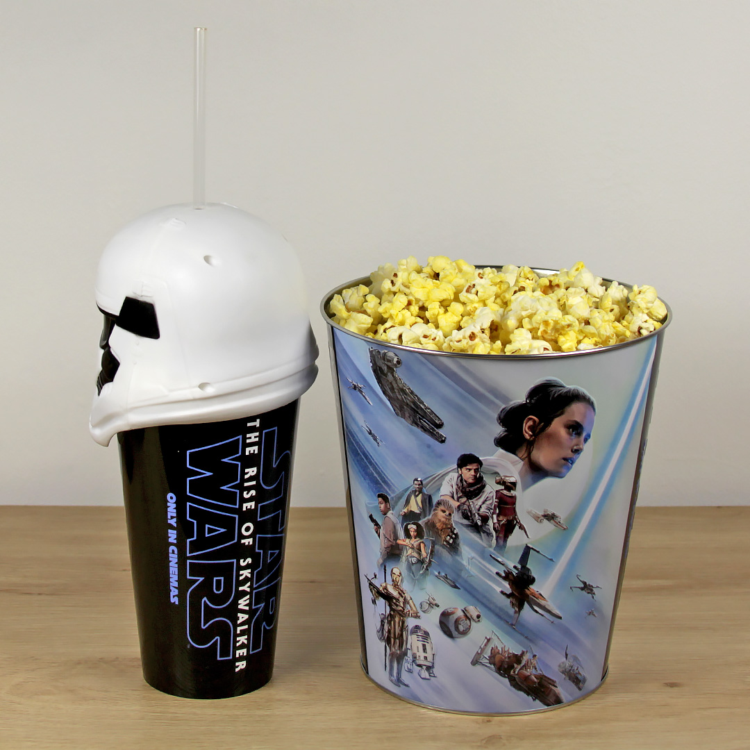 Stormtrooper Popcorn Bucket and Cup from Event Cinemas