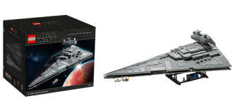 LEGO Imperial Star Destroyer (75252) at Mighty Ape