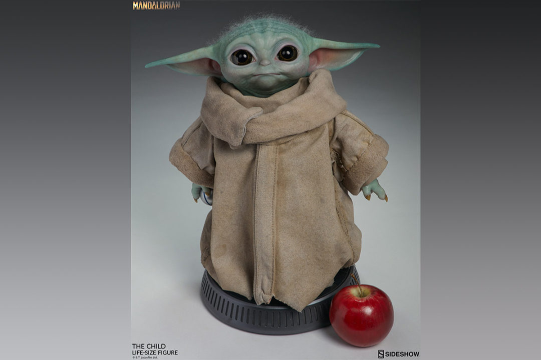 Baby Yoda Life-Size Statue