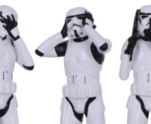 'Hear No Evil' Stormtrooper Figurines at NZ GameShop