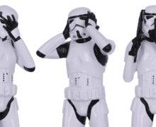 'Hear No Evil' Stormtrooper Figurines at NZ GameShop