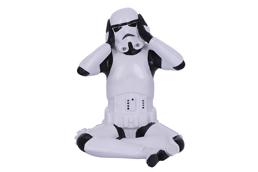 'Hear No Evil' Stormtrooper Figurines