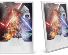'The Force Awakens' Silver Foil from NZ Mint