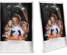 'Revenge of the Sith' Silver Foil from NZ Mint