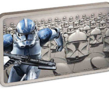 New Clone Trooper Silver Coin from NZ Mint