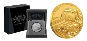 Lando Calrissian Coins From NZ Mint