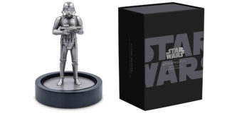 NZ Mint Stormtrooper Silver Figure