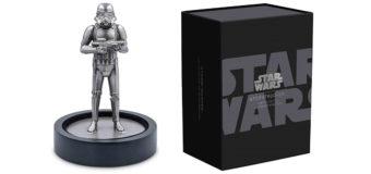 NZ Mint Stormtrooper Silver Figure