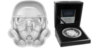 Stormtrooper Helmet Coin from NZ Mint
