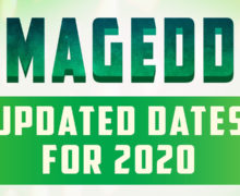 Updated 2020 Armageddon Expo Dates