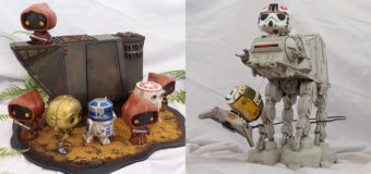 Fan Spotlight – Star Wars Dioramas by Gordon Barrie