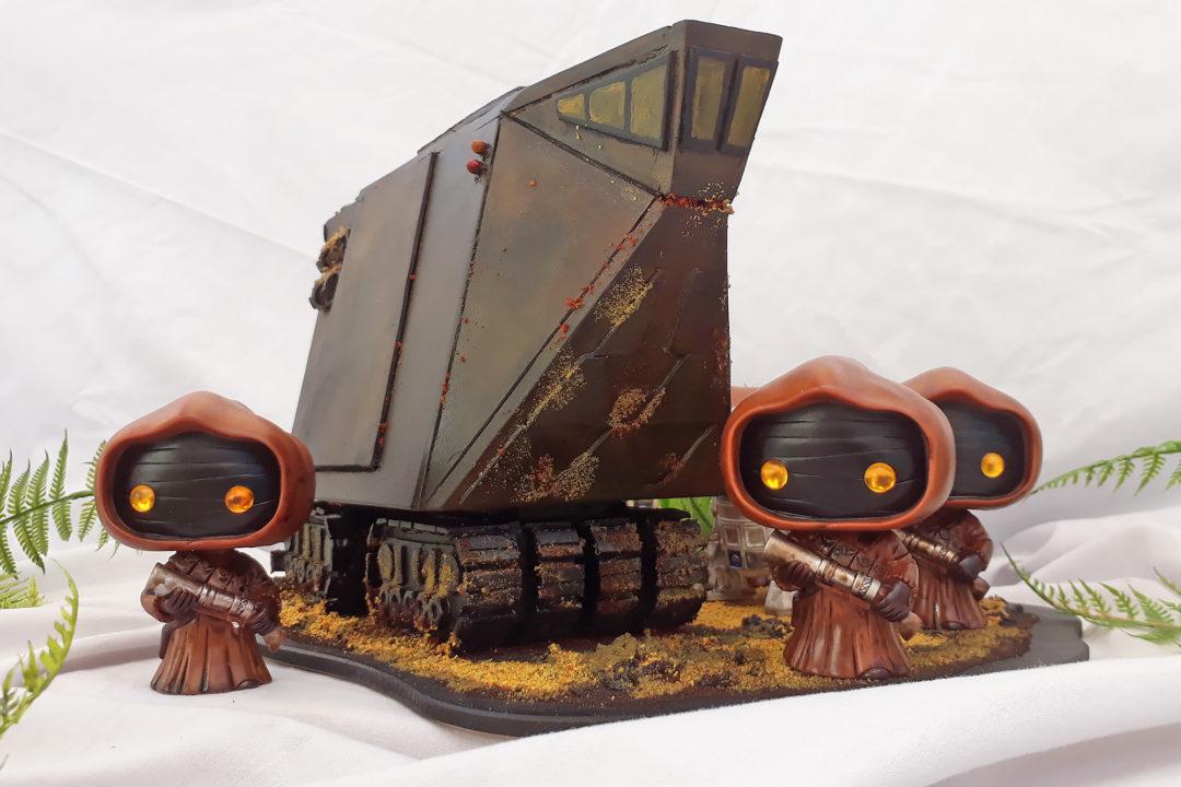 Custom Diorama by Gordon Barrie