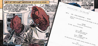 Did You Know…? Scripts with Deleted ROTJ Dialogue