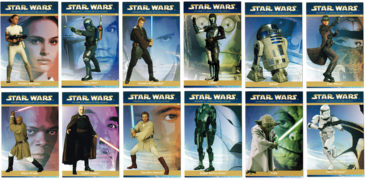 'Attack of the Clones' Collectible Cards from Mainland Products Ltd (NZ), 2002