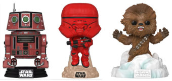 New and Exclusive Star Wars Pop Figs at Mighty Ape