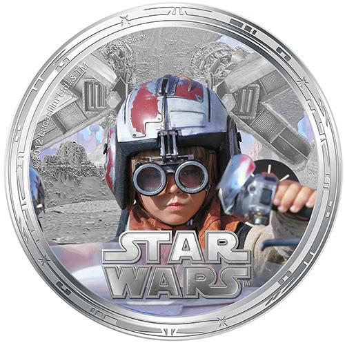 NZ Mint 1oz Silver Coin - Anakin Skywalker