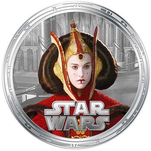 NZ Mint 1oz Silver Coin - Queen Amidala