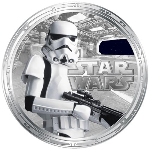 NZ Mint 1oz Silver Coin - Stormtrooper
