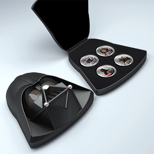 NZ Mint 1oz Silver Coin - Darth Vader Case, Wave 2