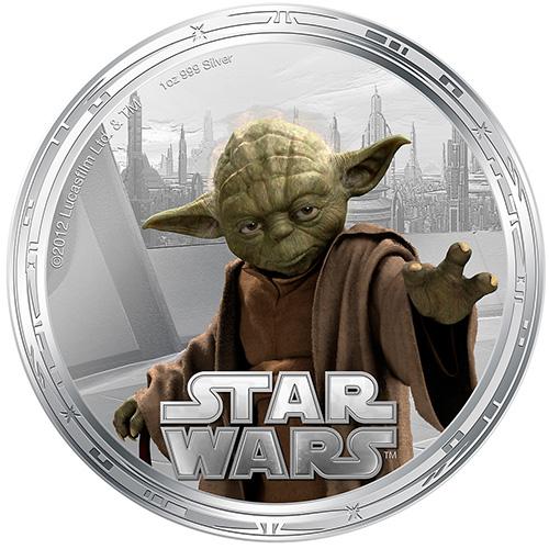 NZ Mint 1oz Silver Coin - Yoda