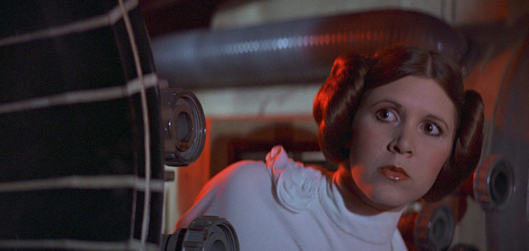 Princess Leia, Star Wars Episode IV A New Hope