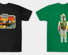 Vintage Action Figure T-Shirts and Merch