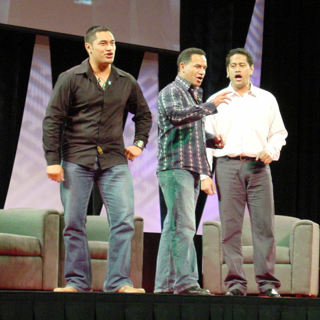 Star Wars Celebration 3 - Temuera Morrison, Bodie Taylor, and Jay Laga'aia