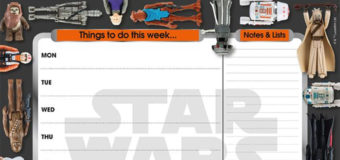 Get Organised With The Star Wars Desk Pad Planner