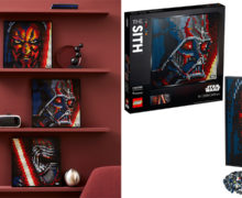 New LEGO Sith Art Set (31200) at Mighty Ape