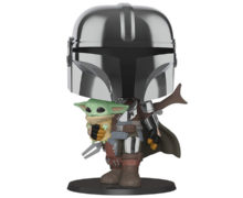 The Mandalorian 10″ Super Sized Pop! Vinyl Figure