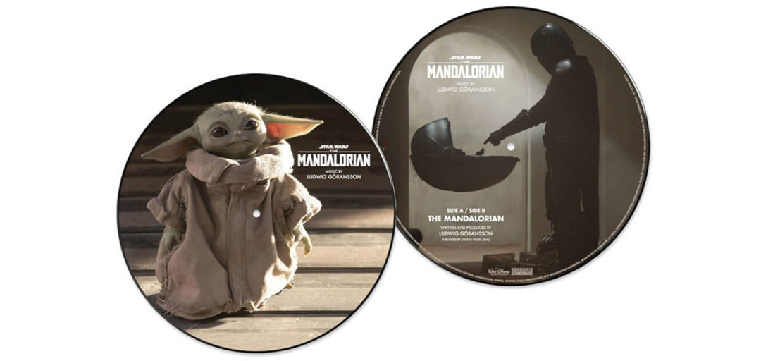"""The Mandalorian Limited Edition 10"""" Picture Disc"""