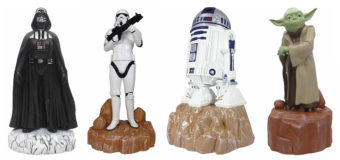 Painted Star Wars Garden Statues Back at Mitre 10