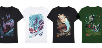 Star Wars Original Trilogy Art Print T-Shirts