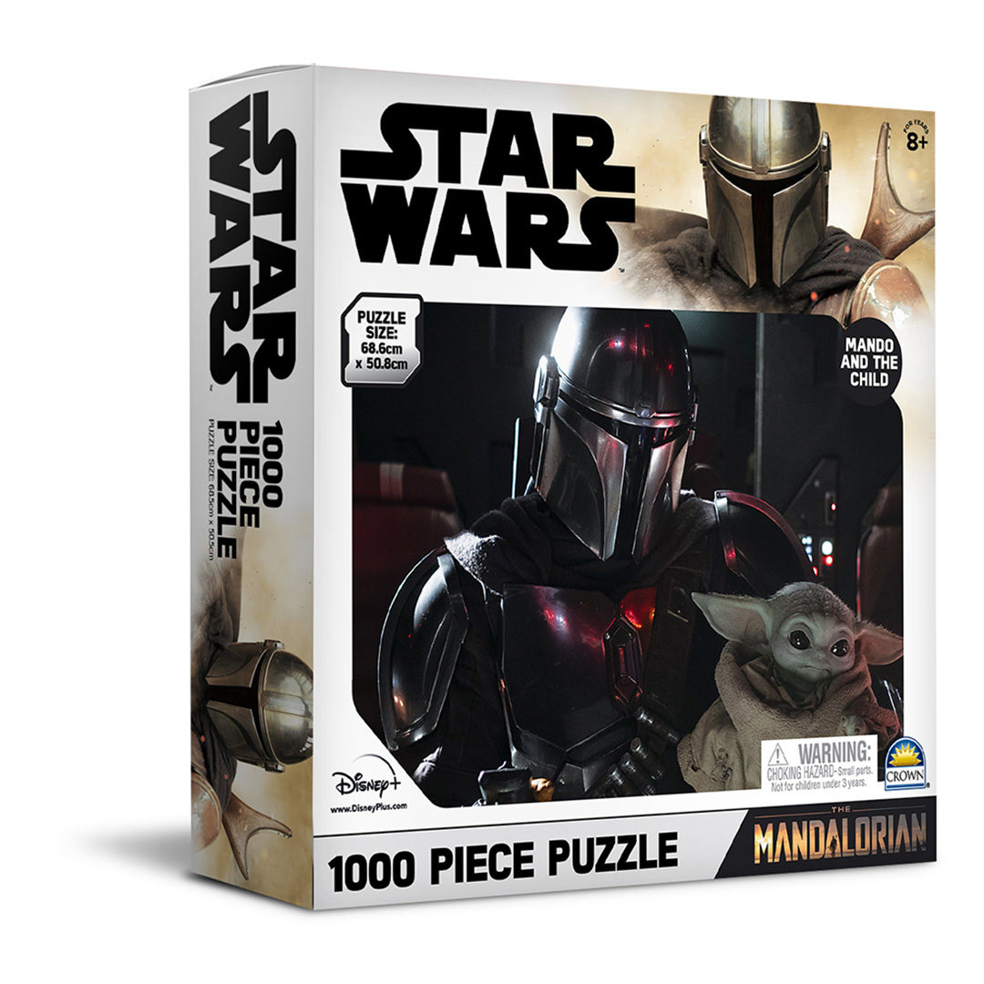 The Mandalorian Jig-Saw Puzzles