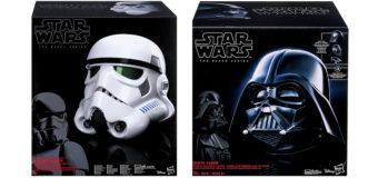 Classic Black Series Star Wars Helmets