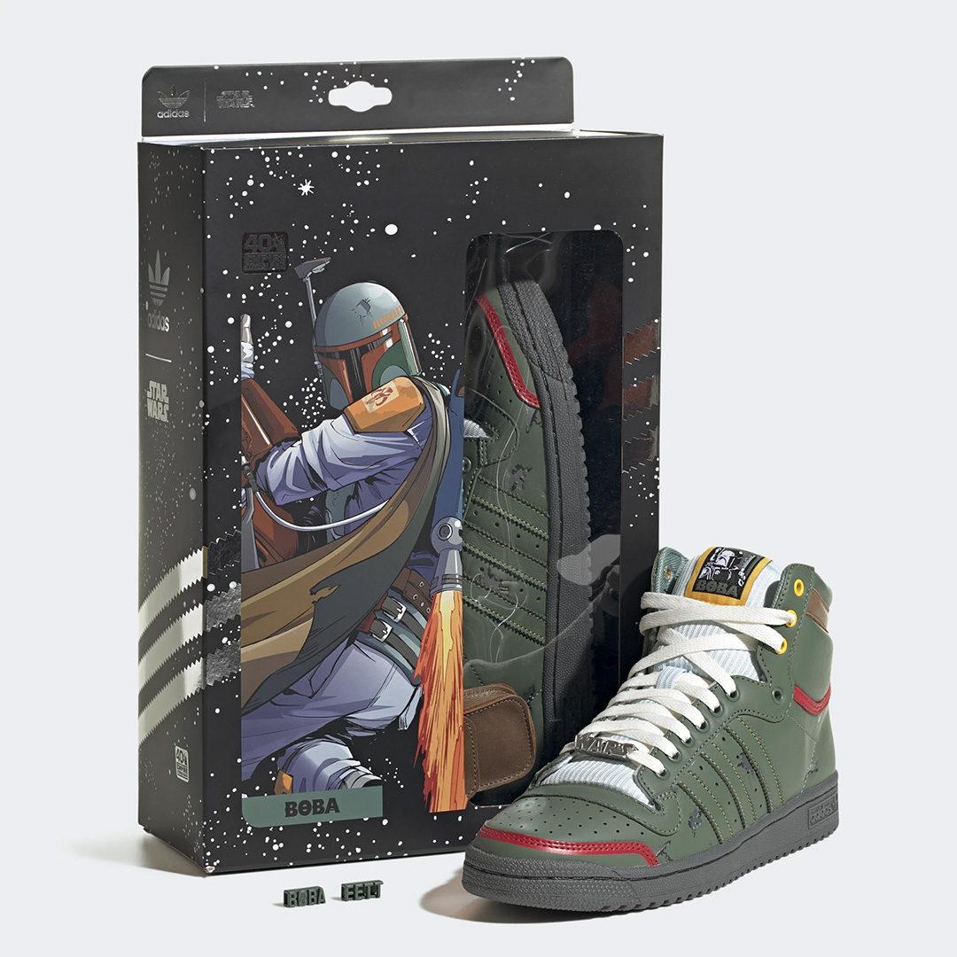 Star Wars Adidas Boba Fett Sneakers