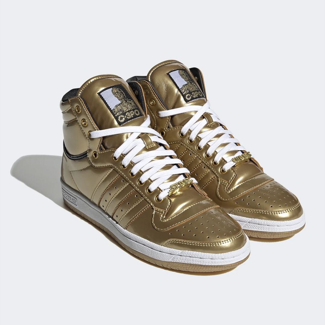 Star Wars Adidas C-3PO Sneakers