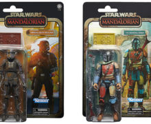 Amazon Exclusive Carbonized Vintage Mandalorian 6″ Figures
