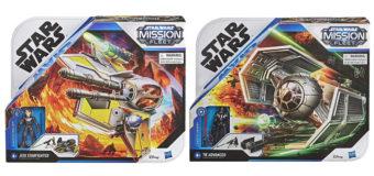 Star wars Mission Fleet Vehicles
