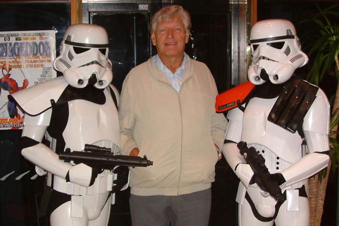 David Prowse, Darth Vader, at Wellington Armageddon 2003