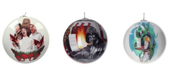 Star Wars Christmas Tree Decos at Zavvi