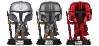 The Mandalorian Pop! Vinyl Variants