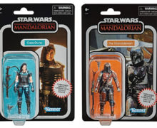 TVC 3.75″ Carbonized Mandalorian Figures