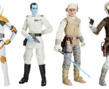 Black Series Archive Figures – Thrawn, Cody, Luke & Han