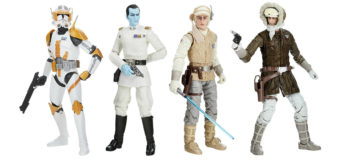 Black Series Archive Figures – Thrawn, Cody, Luke & Han