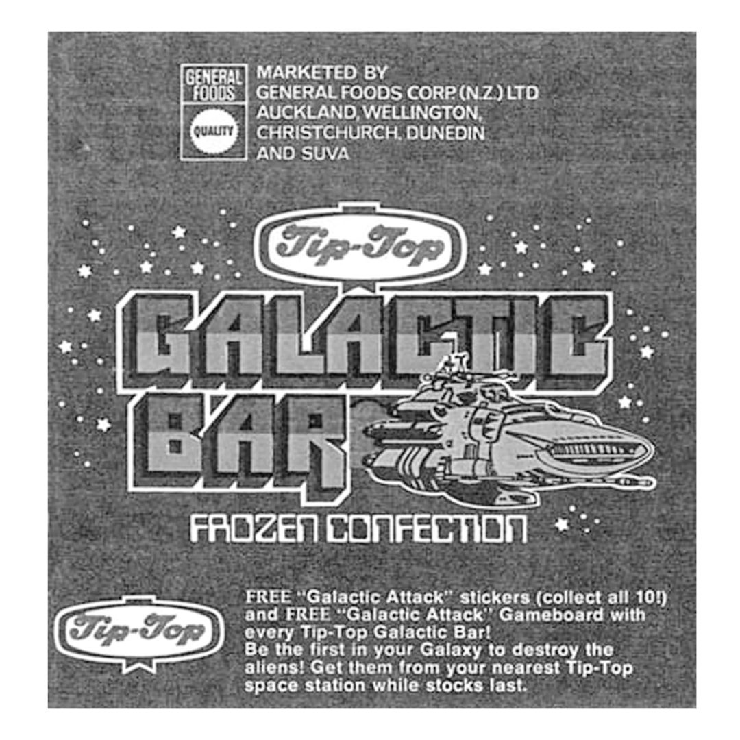 Tip-Top Galactic Bar Ice-Block Wrapper