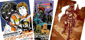 Acme Archives Star Wars Lithograph Art at Mighty Ape